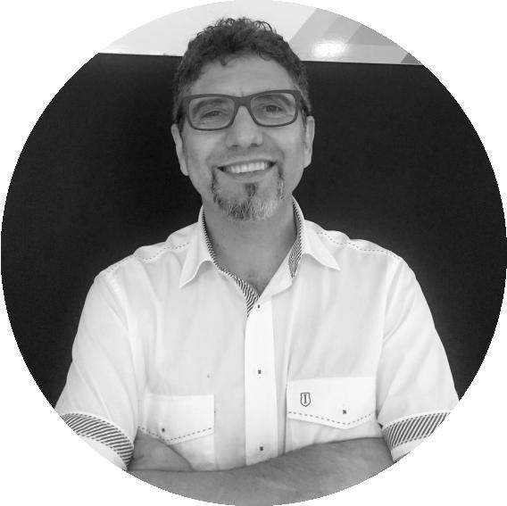 Sérgio, proprietário da Sysdata Tecnologia