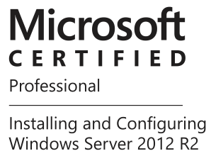 Certificado Microsoft profissional server 2012 R2
