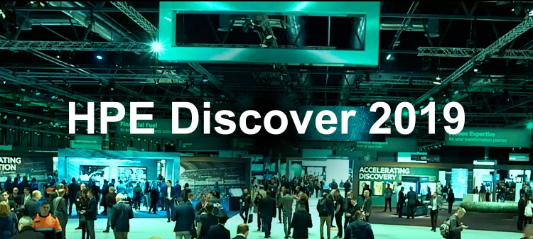 Banner do evento HPE Discover 2019
